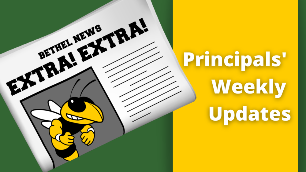 Principal's Weekly Updates - Oct. 30th Editions