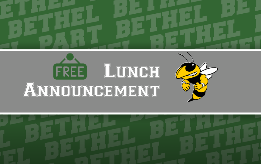 FREE Lunch BLS Students