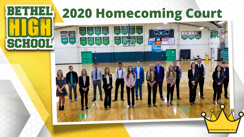 2020 Homecoming Court and Festivities