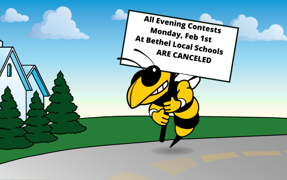 BLS Evening Contests CANCELED