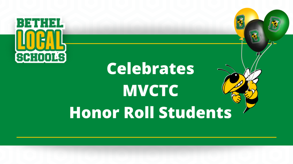 Congrats MVCTC Honor Roll Students