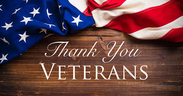 Veterans Day Thank You Image
